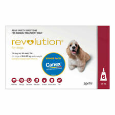 Revolution Flea Control for Dogs - 6 Pack