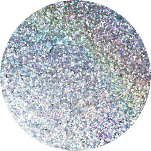 Glitter Paint Additive Silver Holographic Diamond Emulsion Varnish Walls Ceiling