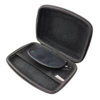 caseroxx GPS-Tasche für TomTom Via 62 Europe Traffic in schwarz aus Kunstleder