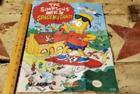 The Simpsons Bart vs The Space Mutants 1990 Nintendo Poster, Collector's Quality
