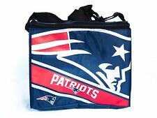 New England Patriots 6 Pk Cooler Insulated Lunch Sack Bag NFL Football Licensed