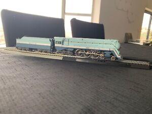 Rivarossi HO 4-6-4 Hudson Santa Fe Blue Goose 3460