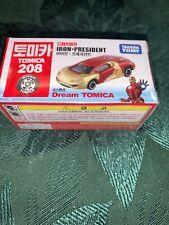 Extremely Rare President Ironman Iron President 208 Dream Tomica Takara Tomy