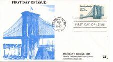 US FDC #2041 Brooklyn Bridge, Jim Agrian (7841)