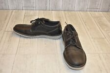 Rockport Cabot Plain Toe Casual Shoe - Men's Size 7W Dark Gray