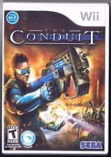 The Conduit (Nintendo Wii) Video Game COMPLETE! Includes Wii Speak!