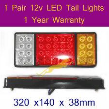 LED Tail Light 2 x 12v LED TailLights for trailers,forklift,caravans,trucks B020