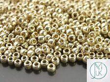 250g PF558 PermaFinish Galvanized Aluminium Toho Seed Beads 6/0 4mm WHOLESALE