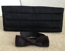 Waiter or Waitress Bow tie & Cummerbund set, size S/M