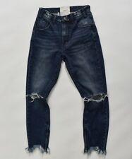 One Teaspoon Freebirds Jeans 23 24 25 26 27 28 29 30 31 Trashed High Lone Star