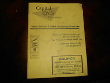 1994 BMW Capital Cycle Catalog Parts and Accessories 58 pgs