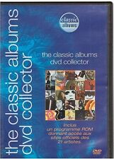 DVD THE CLASSIC ALBUMS DVD COLLECTOR 21 extraits PROMO elvis metallica u2 maiden