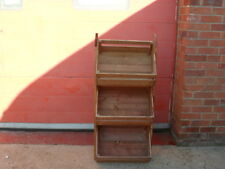 Rustic Retail Shop Stack Display / Point of Sale unit