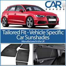 Audi A3 5dr 12 On UV CAR SHADES WINDOW BLINDS PRIVACY GLASS TINT BLACK