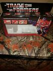 Transformers G1 Optimus Prime Box Reissue 1984 For Sale