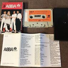 ABBA The Album JAPAN CASSETTE DCP-1508 w/SLIP CASE(Different artwork)+INSERT