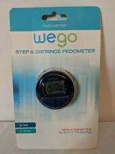 Pedometer We Go Step and Distance Activity Tracking Steps and Distance