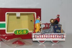 LGB 22010 Circus Operating Handcar The Big Train - Mint in Box