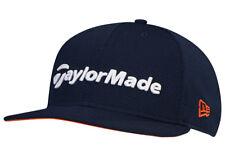 TaylorMade Performance New Era 9Fifty Snapback Flatbill Golf Hat Navy/Orange New