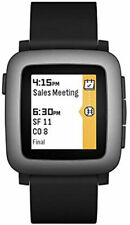 Pebble Time Smartwatch / Schwarz / NEU - Unverpackt / Android - iOS