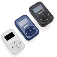 RUIZU X26 8GB Clip Sport Bluetooth MP3 Music Player with FM Radio Record Soun ZH