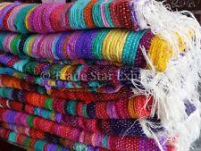 Set Of 5 Area Rugs 4X6 Hand Loomed Oriental Carpet Vintage Boho Throw Rag Rug