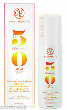Vita Liberata SPF50 Passionflower & Argan DRY OIL Face/Hair/Body SUNSCREEN 100ml