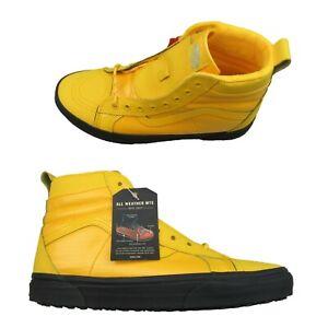 Vans Sk8-HI 46 MTE DX All Weather Sneakers Mens Size 11 Yellow Black NEW