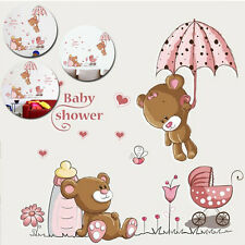 Cute Bear Nursery Kids Baby Child Room Home Decoration Art Mural Wall Stickers