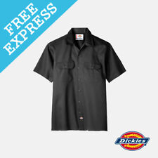 Dickies Short Sleeve Work Shirt 3xl Black