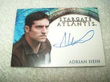 Stargate Atlantis Autograph Card Adrian Hein as Replicator
