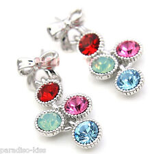Orecchini Donna Cristallo Swarovski Elements Zircone Multicolore OR58