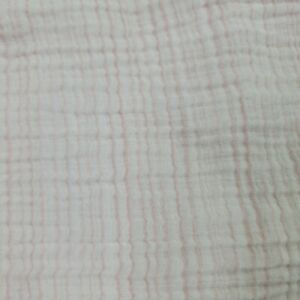 Aden & Anais Cotton Muslin Swaddle Blanket Pink White striped Lovey