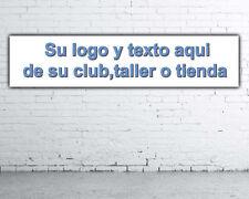 Lona PVC,banner para taller,club o tienda personalizados 180 cm x 40 cm nº17