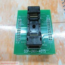 TSOP40 to DIP40 universal socket programmer adapter