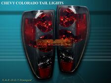 2004-2010 GMC CANYON/ CHEVY COLORADO TAIL LIGHTS SMOKE REAR LAMPS NEW