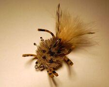 McCrab  Tan  size 2/0  Saltwater Crab Flies