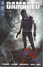 Damaged #1 (of 6) A Cover Maleev Comic Book - Radical