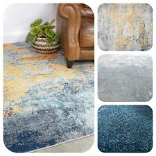 New Distressed Rugs for Living Room Popular Abstract Rug Designs Grey Navy Mats