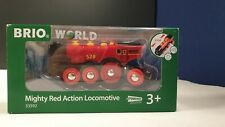 BRIO Mighty Red Action Locomotive 33592 Battery Powered Train