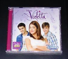 DISNEY VIOLETTA EL ORIGINAL SOUNDTRACK A LA SERIE DE TV CD NUEVO & EN PAQUETE