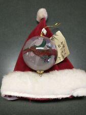 Midwest of Cannon Falls Christmas ornament & Small Vintage Santa Hat