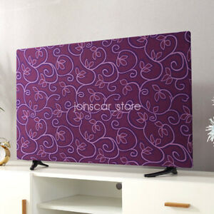 Stretchable Dustproof Slipcover TV Monitor Desktop Computer Cover Decor 65inch