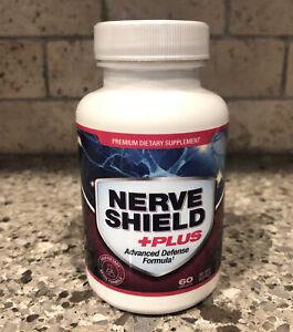 NEW Nerve Shield Plus Advanced Defense Formula 60 Capsules 30 Day Supply 01/2023