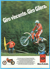 MOTOSPRINT982-PUBBLICITA'/ADVERTISING-1982- GILERA C1 CROSS
