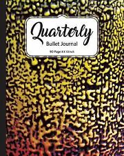 Journals to Write In: Quarterly Bullet Journal: Cheetah Tiger Print Dot Grid,...