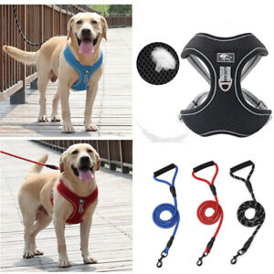 Large Pet Dogs Chest Strap Chain Loop Rope Strap Dogs Lead Leash Harnesses Vest