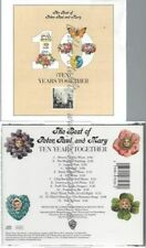 CD--PETER, PAUL & MARY | --10 YEARS TOGETHER - THE BEST OF...