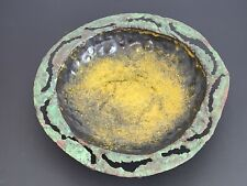 Marcello Fantoni Firenze Raymor Italy Mid-Century Brutalist Copper Hammered Bowl