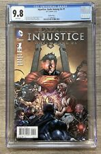 Injustice Gods Among Us #1 CGC 9.8 Raapack 1:25 Variant, Very Rare, NM/MT, DC